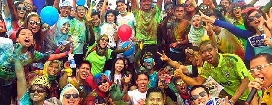 Running Story: Color Fun Run Pekanbaru 2014