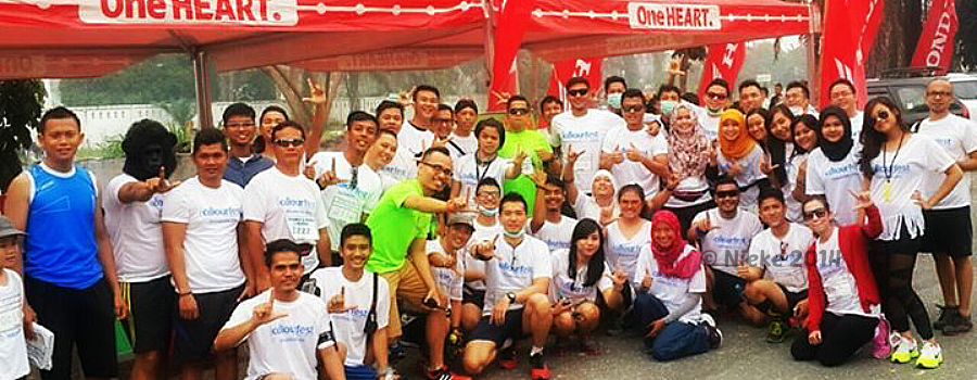 Running Story: Colourfest Pekanbaru 2014
