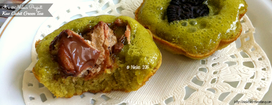 Recipe: Kue Cubit Green Tea