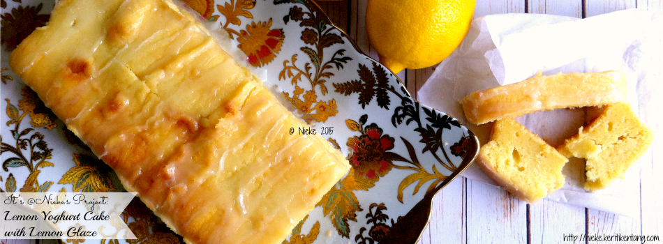 Recipe: Lemon Yoghurt Cake with Lemon Glaze